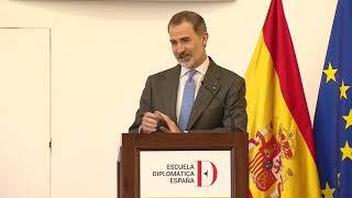 Entrega los despachos de la 71 promoción de la carrera diplomática