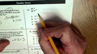 Math On The High School Exit Exam #2