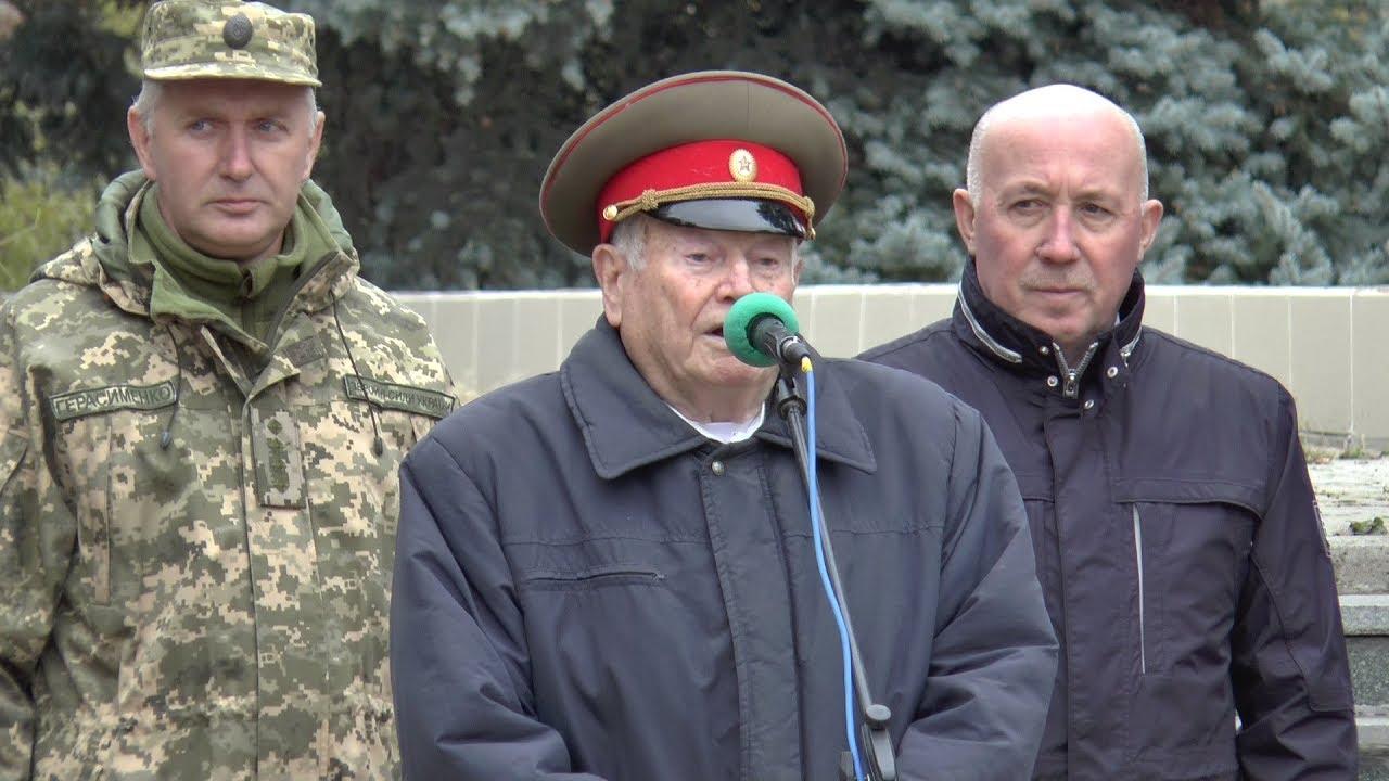 Мітинг з нагоди 75-ї річниці визволення України від фашистських загарбників