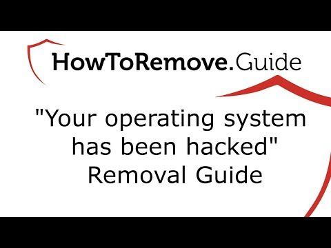 Your operating system has been hacked Email Virus Removal Guide