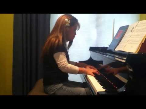 "Venus Plays ""Misty"" on Grand Piano Jazz Cover"
