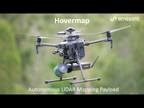 Hovermap - World's first autonomous LiDAR mapping payload