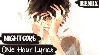 Nightcore - I Lied, I'm Dying Inside [Lyrics/ 1 HOUR]
