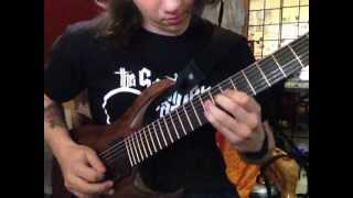 Chelsea Grin - Calling in silence SOLO cover