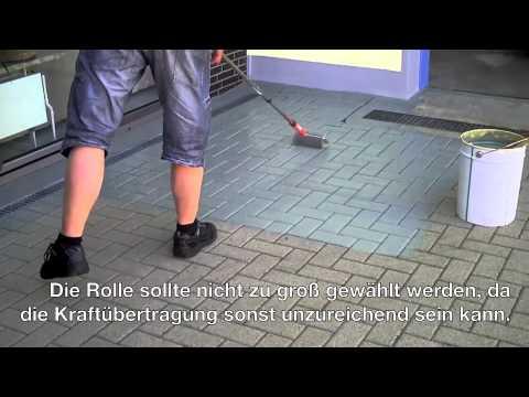 StoneColor: Garageneinfahrt
