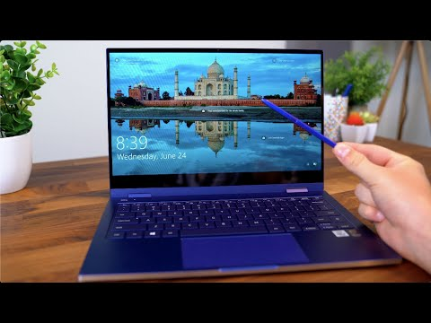 External Review Video jyctVwMhln4 for Samsung Galaxy Book Flex 13 & 15 2-in-1 Laptops