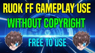 ruok ff gameplay use without copyright || free fire gameplay use without copyright – VIP SKY GAMING