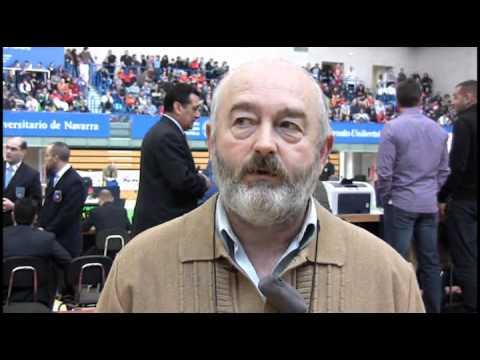 CEA 2012 - Josetxo Areta Preseidente FN  Judo