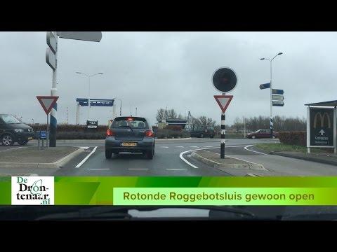 VIDEO | Rotonde bij Roggebotsluis is dit weekeinde ècht gewoon geopend