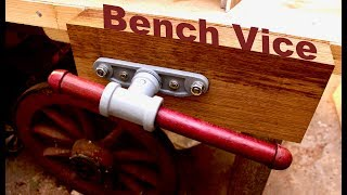 How to build a BENCH VICE - SE Woodwork