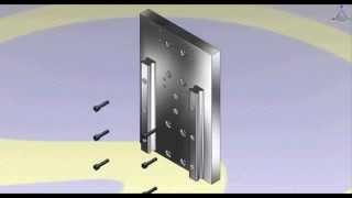 Video Mô phỏng lắp ráp máy CNC mini