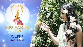 Yenny Katherine Carrillo Miss Earth Colombia 2019 Eco Video