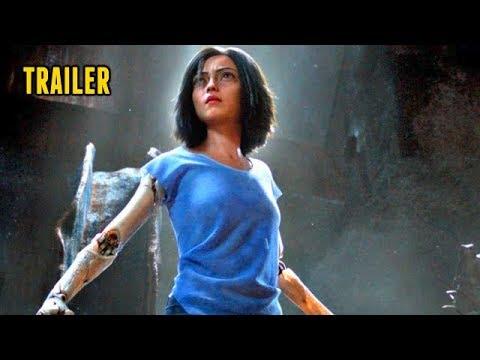 🎥 ALITA: BATTLE ANGEL (2018) | Full Movie Trailer in HD | 720p