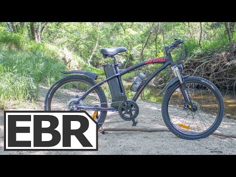 DJ Bikes Electric Mountain Bike Video Review – $1.4k Economical Trail Ebike