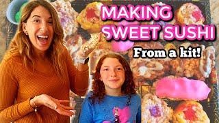 Making Candy Sushi Maki and Nigiri - With Sweet Sushi Inc.