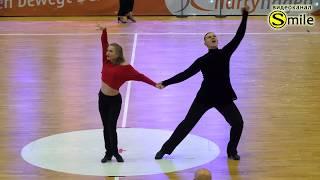 Roman Samokhvalov & Anna Tsapurina, Disco Hustle /Fox /Disco Swing | Solo Leader / Follower | RU
