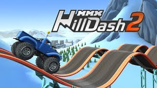 MMX HILL DASH 2 Offroad Truck Car and Bike Racing Gameplay Android  / Level 27, 28, 29, 30, 31, 32