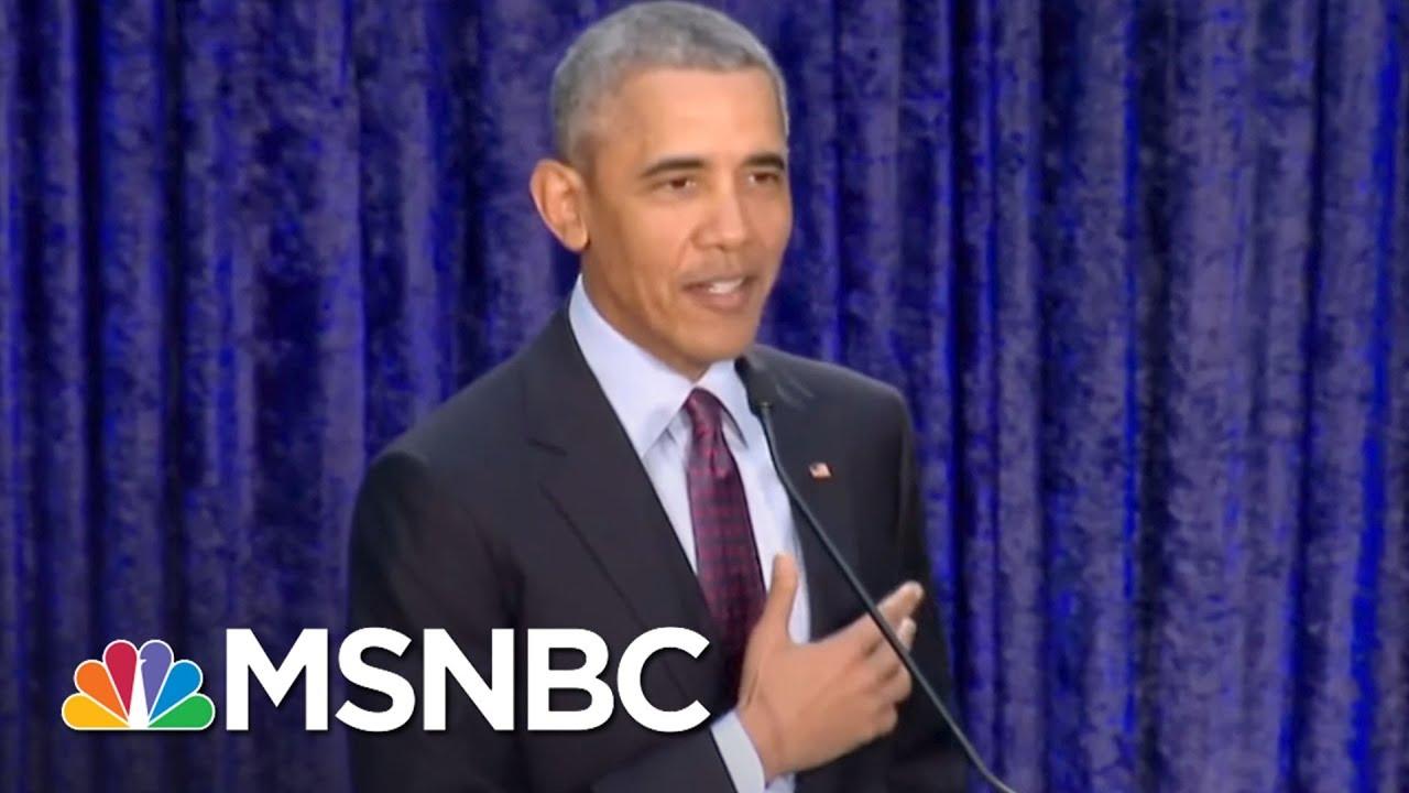 Barack Obama Portraits Revealed | All In | MSNBC thumbnail