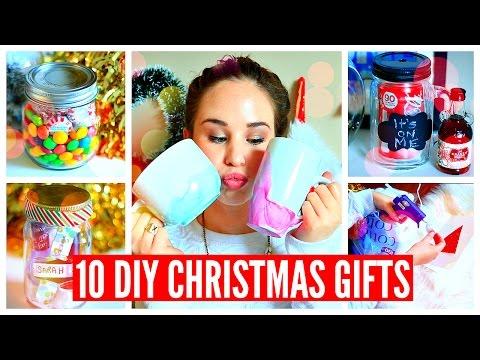 DIY: 10 προτάσεις για Χριστουγεννάτικα δώρα