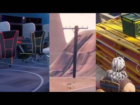 Fortnite Week 4 Destroy Wooden Chairs Utility Poles And Wooden
