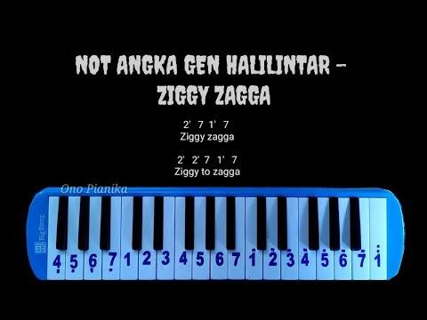 Not pianika gen halilintar   ziggy zagga