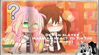 {〚⚘demon slayer〛hashira react to demons,tik^tok ⚘} part 5