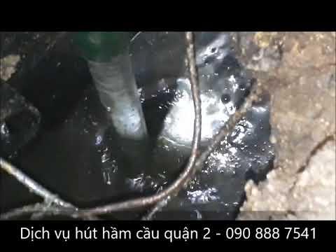 Dùng máy nén khí thông ống nước bồn rửa bát