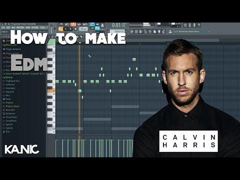 Fl Studio | How to make EDM like Calvin Harris etc...| Free Flp