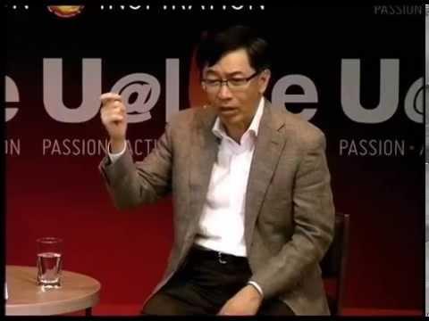 2014 Sep U@live featuring Professor Hsieh Tsun-Yan