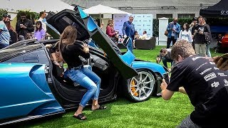 How Many MILFS Can You Fit in a $1 Million Mclaren Senna?