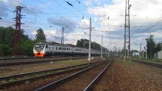 ЭР2Т-7202/ЭД4М-0491 станция Нара