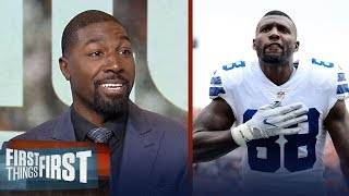 Greg Jennings explains why Dez signing with the G-Men would be 'interesting'   FIRST THINGS FIRST