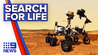 NASA Launches Rover In Search For Life In Mars | 9 News Australia