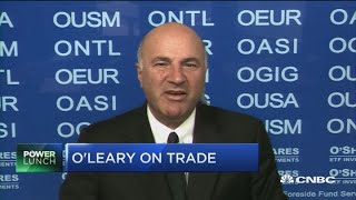 Trudeau in a difficult situation over dairy farmers, says Kevin O'Leary