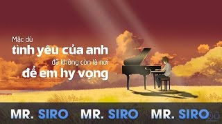 Tự Lau Nước Mắt (Official Lyrics Video) - Mr. Siro