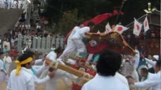 安芸郡坂町坂八幡神社秋祭頂戴ちょうさい