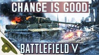 NEW GAMEPLAY MECHANICS in Battlefield V + Battlefield 1 key giveaway!