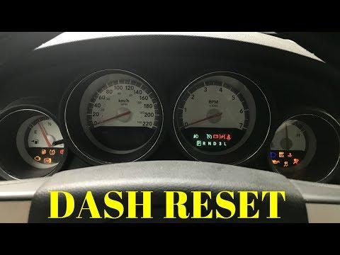 Download How To 8 Reset Cluster Gauge Dashboard 2006 2010