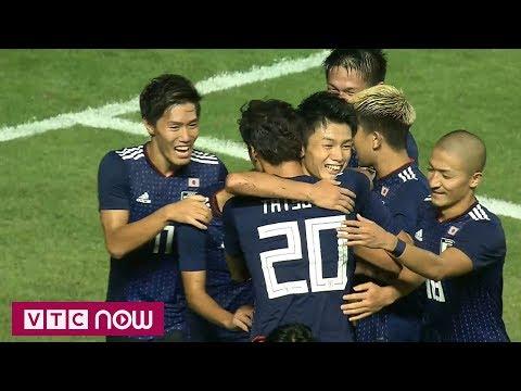highlights ban ket bong da nam asiad 2018 nhat ban 1 0 uae vtc now