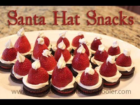DIY: Santa Hat Snacks