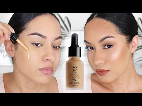 NYX Total Control Foundation Review + Demo