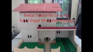preview picture of video 'Karya Anak SMKN1 Bontang  Pembuatan Miniatur Rumah Bertingkat'