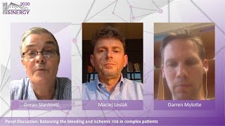 SINERGY 2020 – Balancing the bleeding and ischemic risk in complex patients