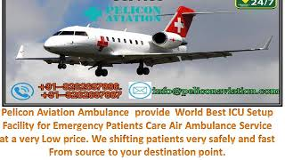 Book 24*7 Medical Facility Air Ambulance Service from Patna to Ranchi By Pe