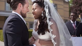 OUR WEDDING VIDEO:  Meet The Engels I Interracial Couple