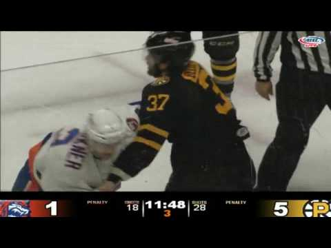 Matt Carkner vs. Brett Bellemore