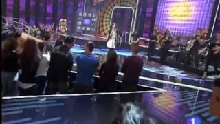 Chenoa Buenas Noticias en la Gala Disco del Año 2009