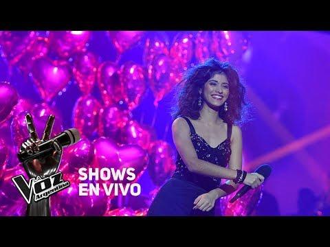 Shows en vivo #TeamTini: Juliana canta