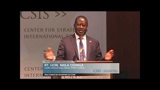 Raila's DC speech a huge disappointment, Press Review