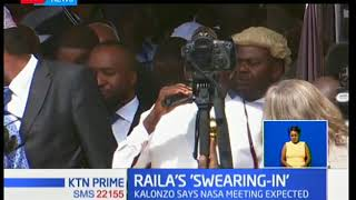 Raila Odinga defiantly sworn in as what the opposition calls the people's president following the di